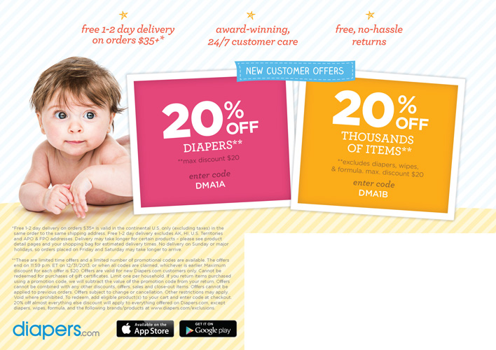 Diapers Direct Mail