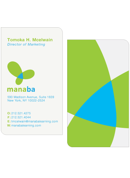 Manaba Business Cards